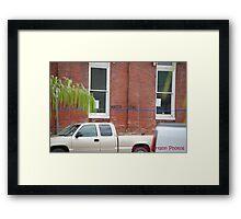 The Waterline Framed Print