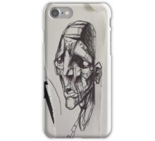 Stone man iPhone Case/Skin