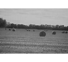 Haybale Photographic Print