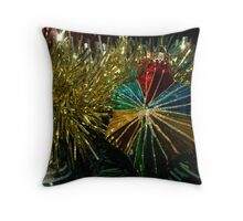 Xmas Bauble Throw Pillow