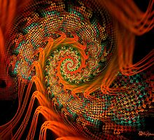 Beaded Tapestry Spiral by wolfepaw