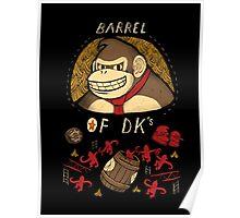 barrel of DKs Poster