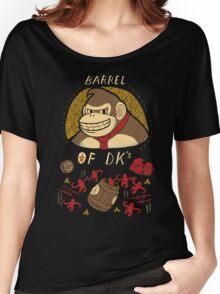 barrel of DKs Women's Relaxed Fit T-Shirt