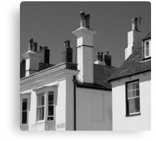 Beach Street Rooftops - Deal Kent UK Canvas Print