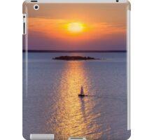 Sailboat on Green Bay iPad Case/Skin