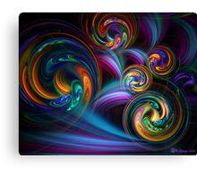 Taffy Swirls Canvas Print