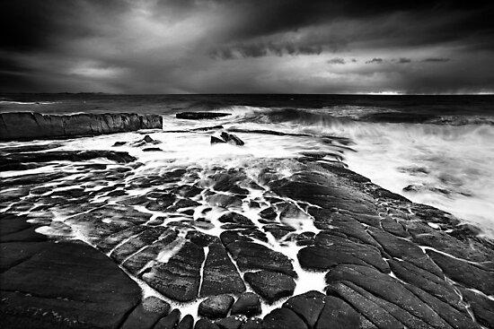 Stormy dawn by Mel Brackstone