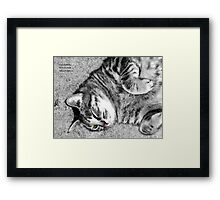 A Portrait of Molly Framed Print