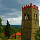 "Temples - ""Istrian campanile (HR)"" by Denis Molodkin"
