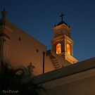 Light at st. Peter's Church in Jaffa by Nira Dabush