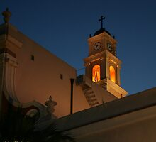 Light at st. Peter's Church in Jaffa by Nira Dabush