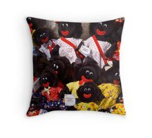 Smiling dolls - Salamanca Markets Throw Pillow
