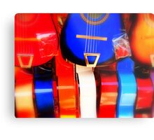 Vibrant Music - Color Soaked Collection - L.A. Metal Print