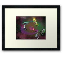 Fractals in Space 3-Planet Fractalis Framed Print