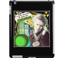 Popular Science: M. Curie (French) iPad Case/Skin