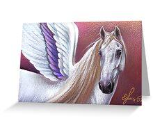 Sunset Pegasus Greeting Card