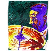 Jazz Portrait-Max Roach Poster