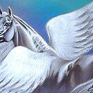 Pegasus by Elena Kolotusha