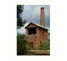 The Duke Of Cornwall Engine House Art Print
