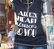 All My Heart Is Belong To You by Angie Spicer