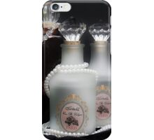 Perfume Bottle Frosted iPhone Case/Skin