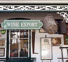 Stellenbosch  wine shop closeup by Henry Deacon