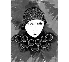 Flapper Photographic Print