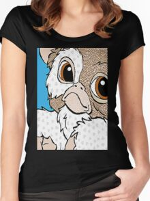 mogwai love Women's Fitted Scoop T-Shirt