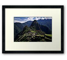 A New 7th Wonder - Machu Picchu - Peru Framed Print