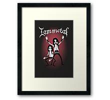 I am Metal Framed Print
