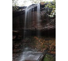 Waterfall - Toonoum Falls, Royal National Park, NSW Photographic Print