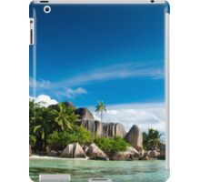 a colourful Seychelles landscape iPad Case/Skin