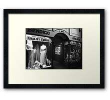 As It Was Framed Print