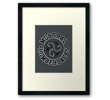 Skyrim - Football Jersey - Morthal Lumberjacks Framed Print
