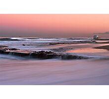 Merewether Beach Sunset - Australia Photographic Print