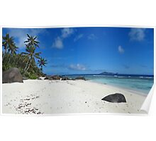 an incredible Seychelles landscape Poster