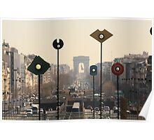 Arc de Triomphe, Paris Poster