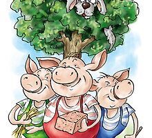 Three Little Pigs by Konstantinas