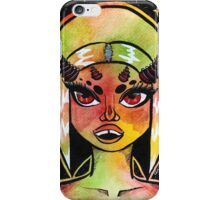 Horny Space Babe Pt.2 iPhone Case/Skin