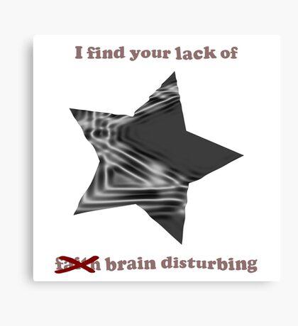Vader Brain Canvas Print