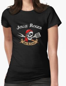 Jolly Roger Bar-B-Crew Womens Fitted T-Shirt