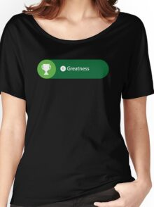 Greatness Achieved Women's Relaxed Fit T-Shirt