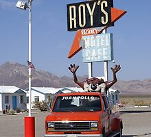 Roys Cafe - Route 66 by Lee Fone