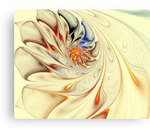 Flower-Abstract-Light Canvas Print