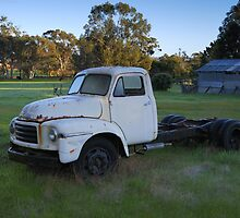 Old Bedford truck by Danny  Waters