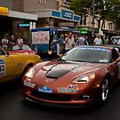 Gouger St Street Party, Classic Adelaide Car Rally by SusanAdey