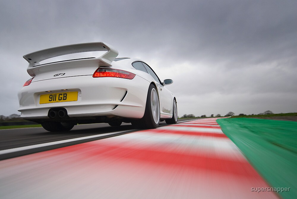 Porsche 911 GT3 Action by supersnapper