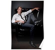 Reclining  Poster