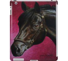 Sponeck, Trakehner Stallion iPad Case/Skin