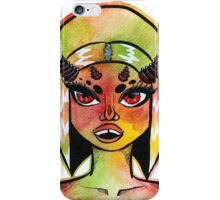 Horny Space Babe Pt.2 V.2 iPhone Case/Skin